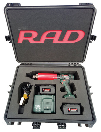 RAD Battery Powered Torque Tools